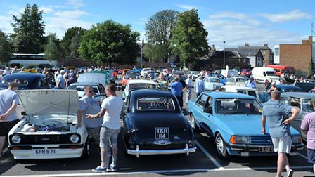 Wisbech historic run and show, Somers Road car park, Wisbech. Picture: Steve Williams.