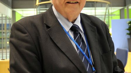 Police and Crime Commisioner Sir Graham Bright