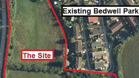Mobile homes proposed site Witchford