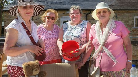 A summer fete was held in Militia Way, Ely. Picture: BARRY GIDDINGS