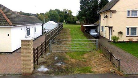 Google view of Littleport access from October 2008