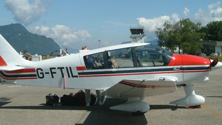 Cllr Paul Bullen has donated a ride in his plane for charity auction
