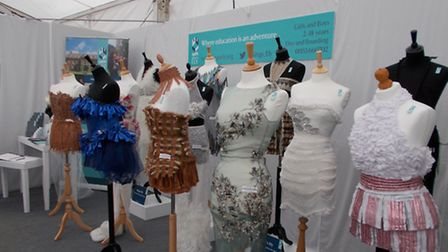 King's Ely was invited to showcase examples of excellence related to the field of fashion design at
