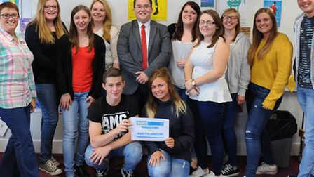 Cromwell Community College Jeans for Genes Day