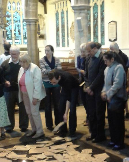 ecumenical and inter-faith gathering took place in St Peter's Parish Church in Wisbech