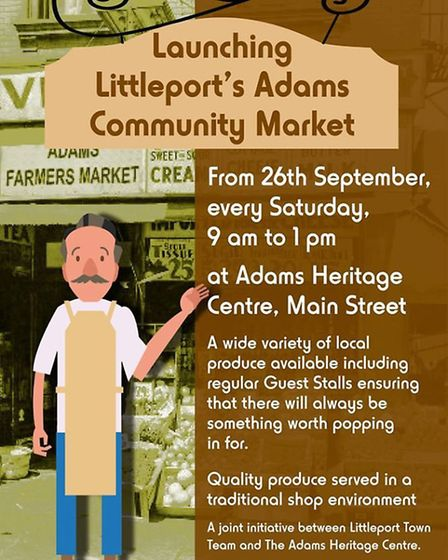 Litlleport is to hold its own market every Saturday morning from this weekend.