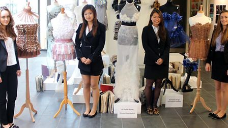 King's Ely fashion students' designs to be exhibited in London