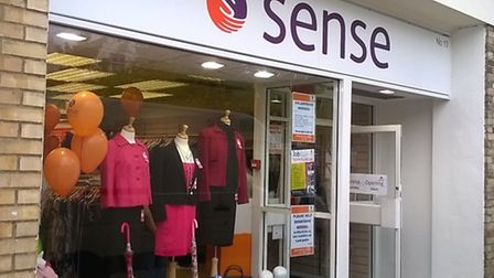 A new branch of Sense charity shop opens in Wisbech
