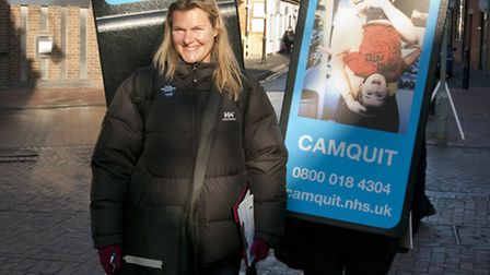 Camquit is a free NHS service providing advice,information and support to local people thinking of s