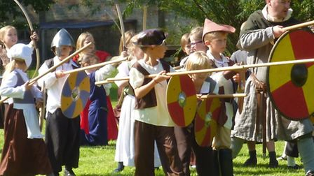 Castle day brings history to life at King's Ely Acremont