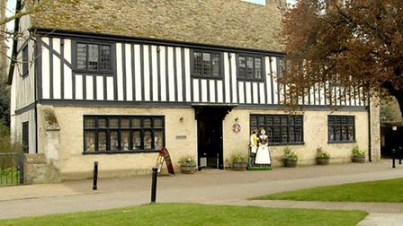 Oliver Cromwell House in Ely