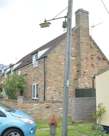 Soham Town Council Street Lights, Angle Common,