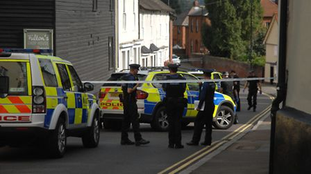Stephen Debley faces trial after an incident in Dunmow last week.