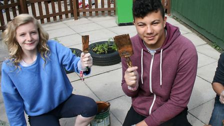 Young people taking part in National Citizen Service (NCS) have been giving back to the community th