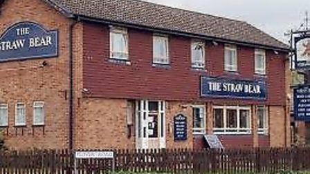 The Straw Bear at Whittlesey