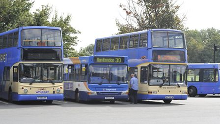 Buses are being held up into Cambridge by roadworks says councillor