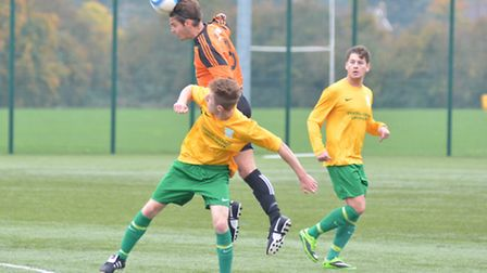 Action from Witchford 96 v Lakenheath
