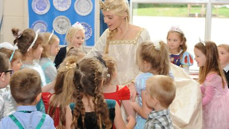Peckover Primary School's pupils' fairy tale wishes come true at their Cinderella Ball