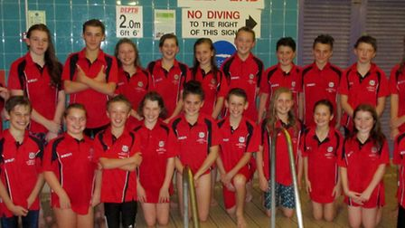 Wisbech Swimming Club took second place in the Junior Fenland League
