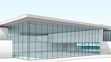 How the proposed Ely leisure centre could look.