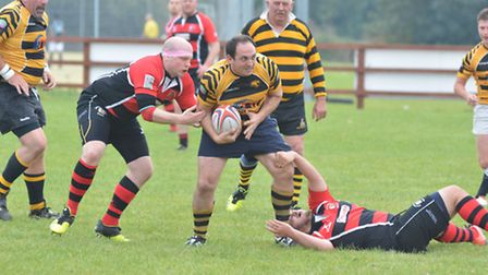 Ely Tigers 2nds rugby v Cottenham Renegades,