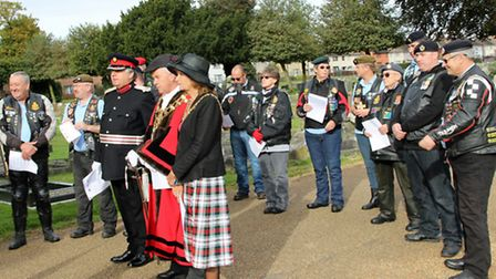 Service at Wisbech to remember two soldiers of the Cambridgeshire Regt