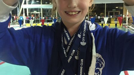 March Marlins swimmer Jess Shaw is top 10 year old girl at contest