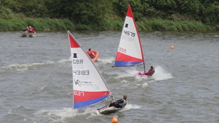 Action from Ely Sailing Club