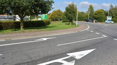 Witchford Road roundabout, A10, A142,
