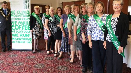 macmillan ladies at lunch in March