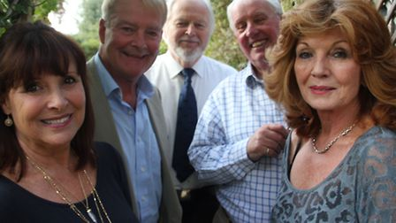 Performers for Mad Dogs and Englishmen at the Brook on Sunday: Diane Keen, Robert Duncan, Ian Lavend