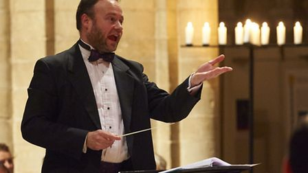 Steven Grahl, director of music at Peterborough Cathedral.