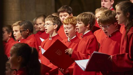 Peterborough Cathedral Choir in concert