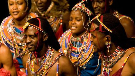 The Osiligi Maasai Warriors will perform at St Peter's Church this month