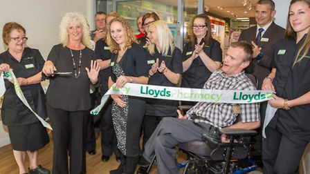 Marion Arnold officially opens Littleport pharmacy