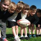 Littleport Primary School get rugby world cup fever.