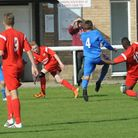 Ely City Reserves vs Outwell Swifts. Picture: ROB MORRIS.