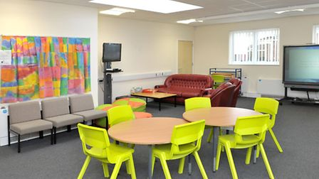 Highfield School, Ely. New Wing Grand Opening. Sixth form and after school club room. Picture: Steve