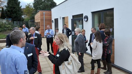 Highfield School, Ely. New Wing Grand Opening. New Wing Tour. Picture: Steve Williams.