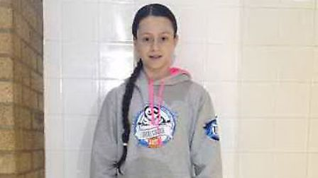 Iona Trainer of Ely Swimming Club was the second fastest in the region at the East Region Winter Cha