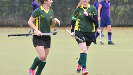 Ely Ladies Hockey 2nds v Cambs South 3s, (purple)