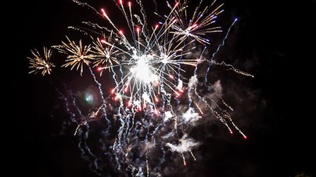 Dunmow Fireworks. Picture: Roger King