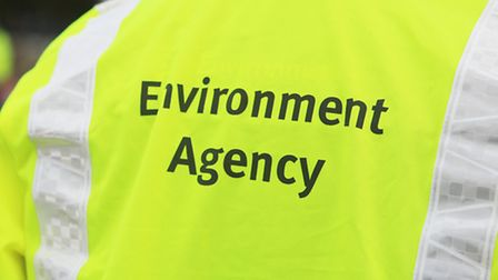 A member of the Environment Agency