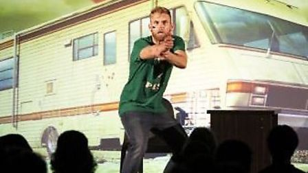 Miles Allen's One Man Breaking Bad show is coming to the King's Lynn Corn Exchange on November 10