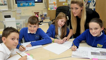 Manea Community Primary school, Good Ofsted. Picture: Steve Williams.