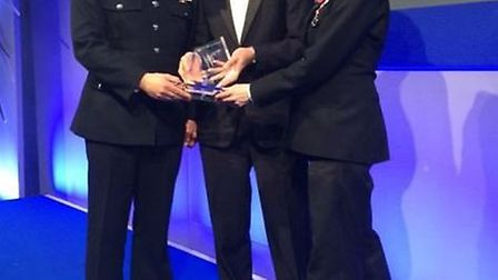 PC Janine Hagger and PC Pete Moulton are regional winners at 2015 Police Bravery Awards