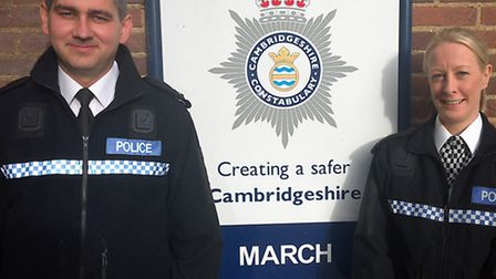 PC Pete Moulton and PC Janine Hagger will attend a reception at 10 Downing Street after bravery comm