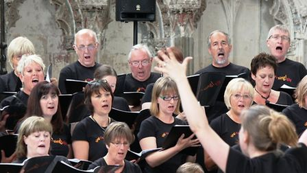 Sing!Ely choir at Ely Cathedral