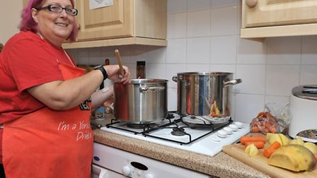 Soup kitchen launched in Ely for the winter months at the Olive Tree Fellowship, Silver Street, Ely.