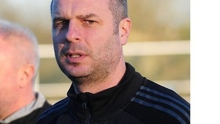 Takeley manager Duncan Easley. Picture by Jamie Pluck
